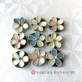 結城紬の花たち