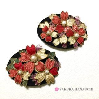 桜 髪飾り バレッタ・クリップタイプ