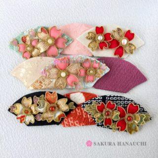 桜のかんざし帯留め