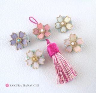 桜のストラップ