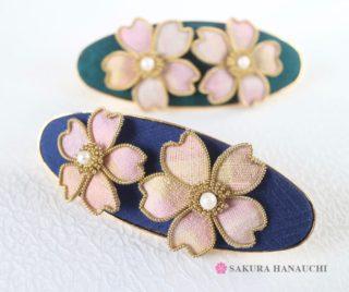桜のバレッタ